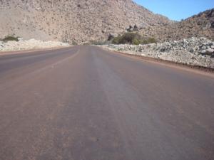 Camino acceso a Minera Pascua Lama